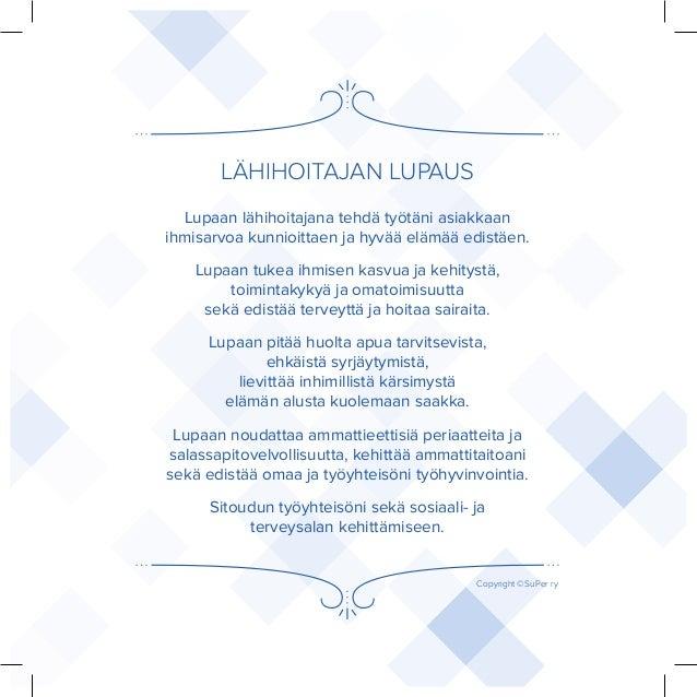 lähihoitajan etiikka Hameenlinna