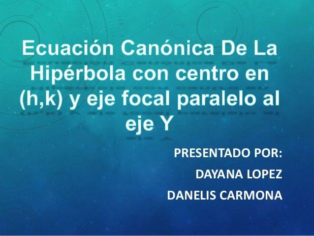 PRESENTADO POR: DAYANA LOPEZ DANELIS CARMONA