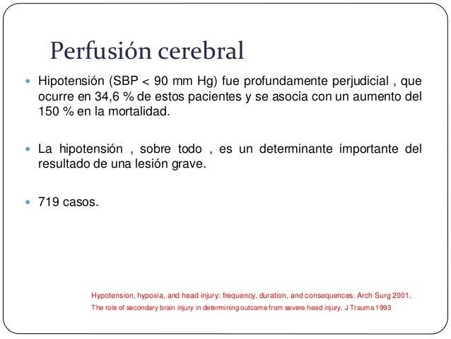 TENSION ARTERIAL MEDIA La hipotension siempre es patologia