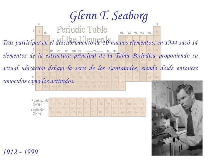 16 - Historia De La Tabla Periodica Moderna Resumen
