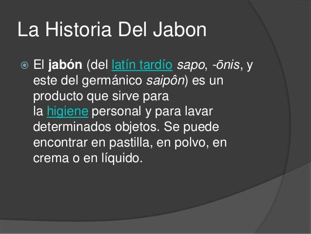 La historia del jabon for La despensa del jabon opiniones