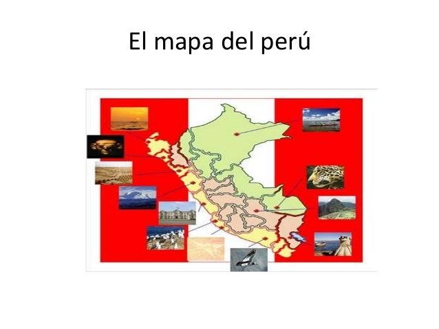El mapa del perú