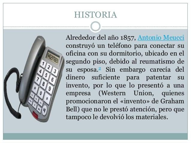 La historia del telefono for La oficina caracteristicas