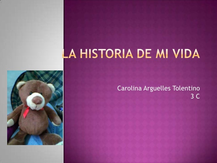 Carolina Arguelles Tolentino                         3C