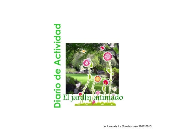 Diario de Actividad                      el Liceo de La Corolla curso 2012-2013