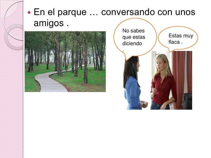 La Historia De Una Anorexica Slide 3