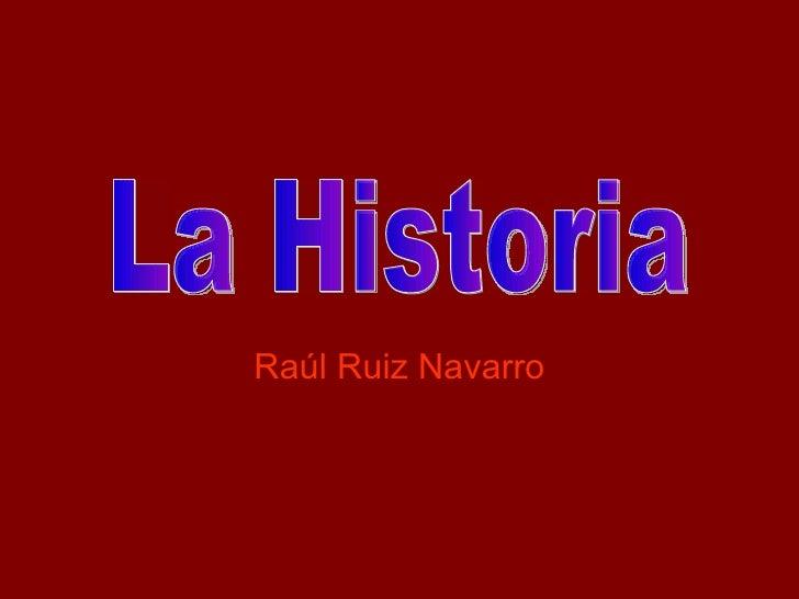 Raúl Ruiz Navarro