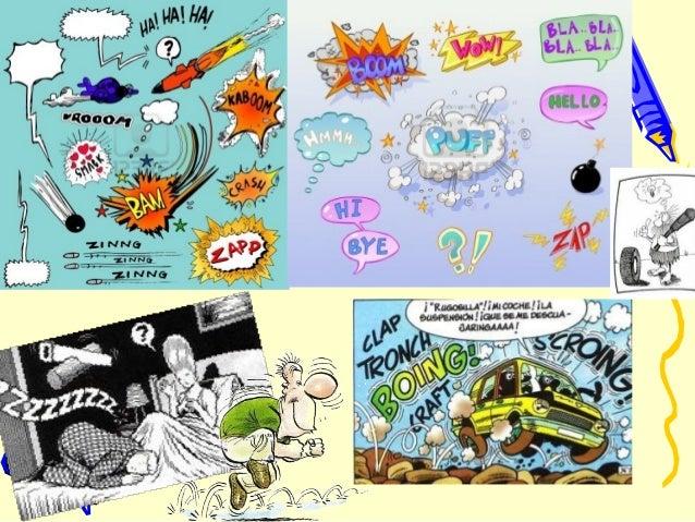 Marcar los elementos de una historieta: