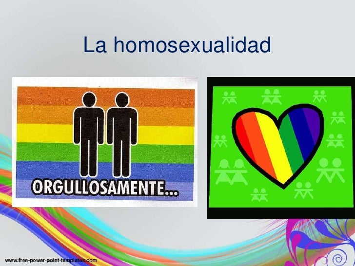 La homosexualidad Slide 2