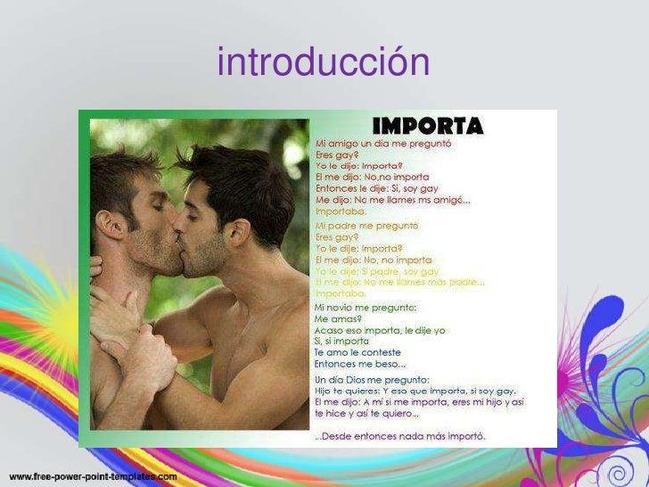 La homosexualidad Slide 3