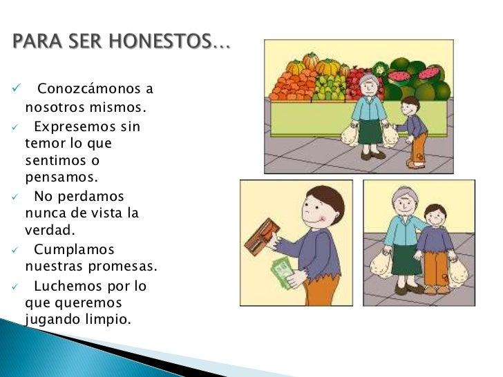 La honestidad Slide 3
