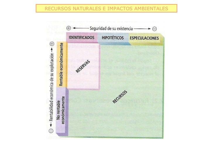 RECURSOS NATURALES E IMPACTOS AMBIENTALES
