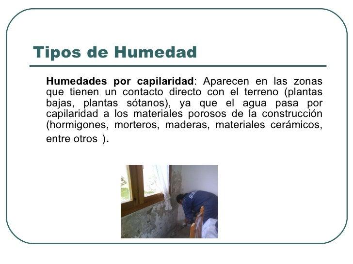 La humedad - Como tratar la humedad en las paredes ...