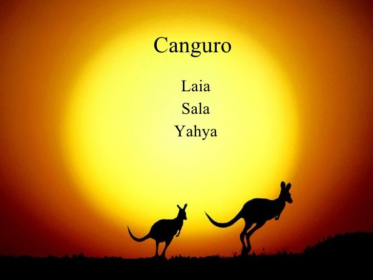 Canguro Laia Sala Yahya