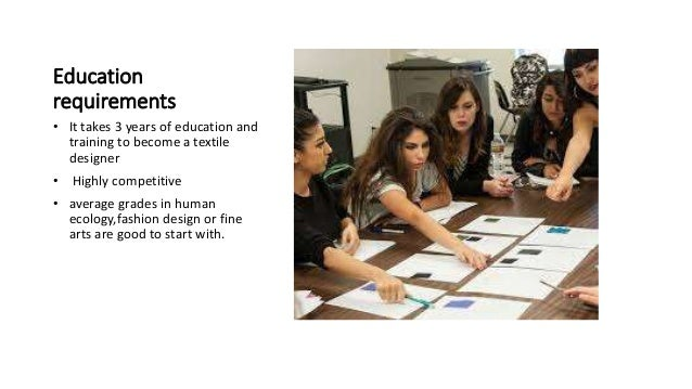education requirements - Fashion Designer Education And Training