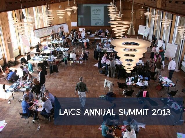 LAICS ANNUAL SUMMIT 2013