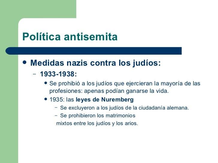 Matrimonio Mixto Catolico Judio : La ideología del nazismo