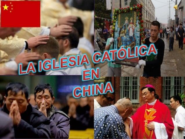 • Introducción al tema  Diapositiva 3  • Historia de la iglesia católica en China  Diapositivas 4 - 10  • La iglesia Patri...