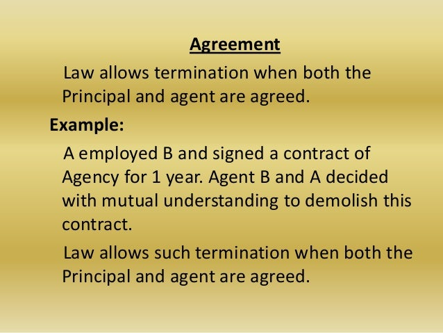 termination of agency Legal update 12 mar2014 rights of a commercial agent on termination of his agency under english law thisarticledealswiththerightsofacommercialagentonterminationof.