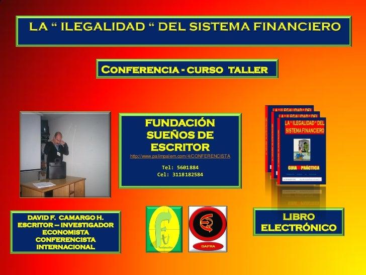 Conferencia - curso taller                                FUNDACIÓN                                SUEÑOS DE              ...
