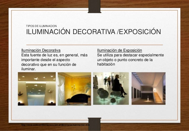La iluminaci n en la arquitectura - Tipos de iluminacion ...