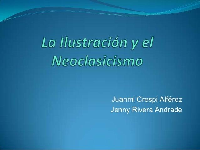 Juanmi Crespi AlférezJenny Rivera Andrade