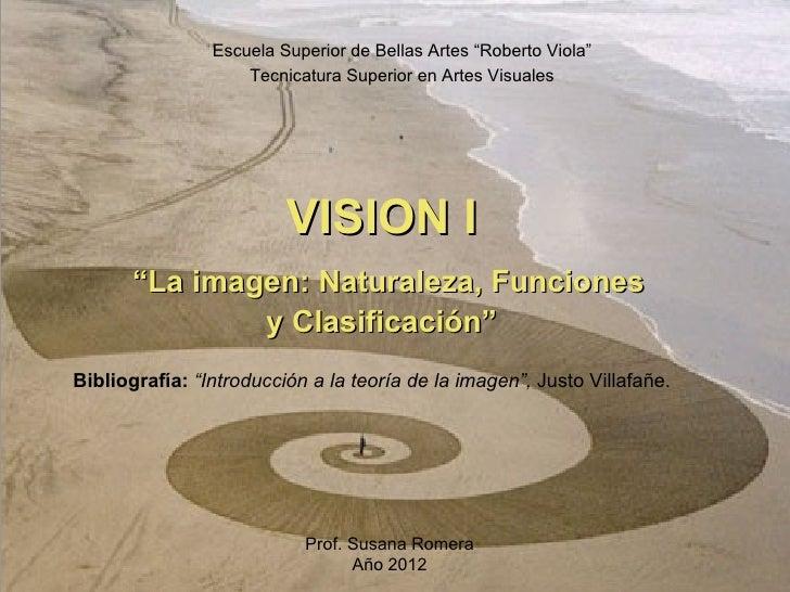 """Escuela Superior de Bellas Artes """"Roberto Viola""""                     Tecnicatura Superior en Artes Visuales               ..."""