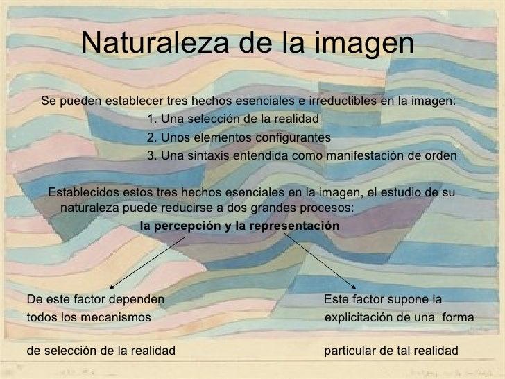 La imagen   naturaleza funciones y clasificación Slide 3