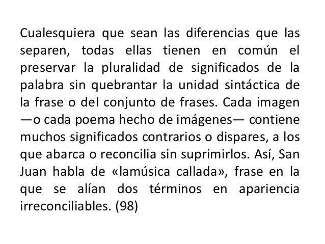 CÁNTICO ESPIRITUAL (Frag.) San Juan de la Cruz - 1536 Esposa: Mi Amado, las montañas, los valles solitarios nemorosos, las...