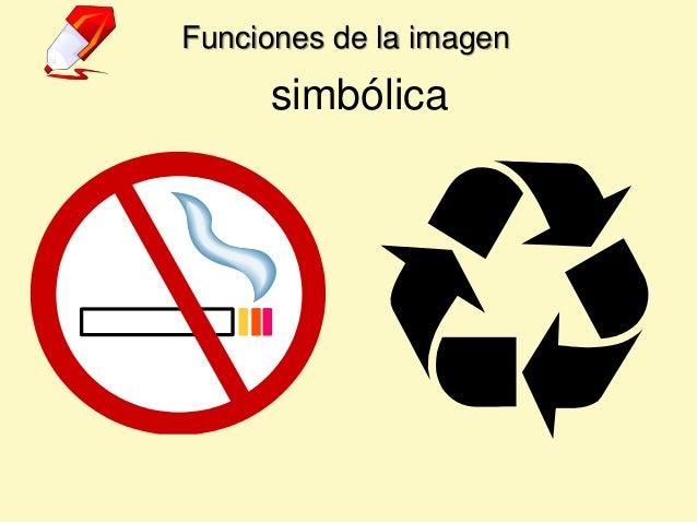 Funciones de la imagen simbólica