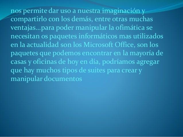 La importancia de la ofim tica dentro del for Importancia de la oficina dentro de la empresa wikipedia