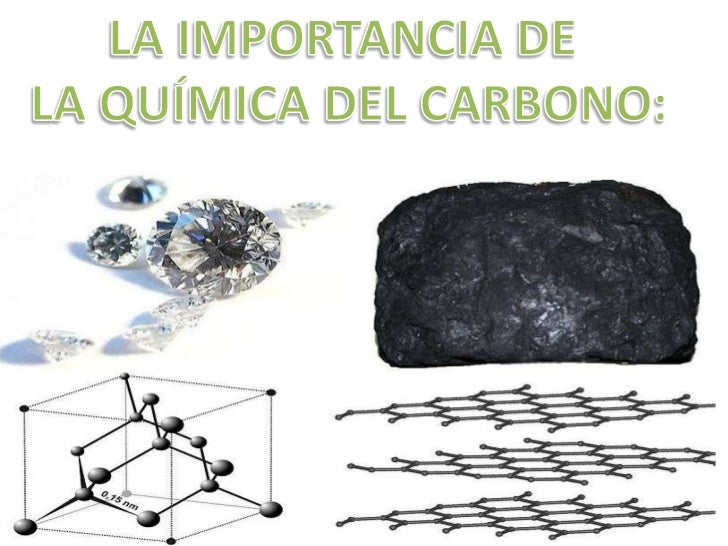 La importancia de la qu mica del carbono for La quimica en la gastronomia