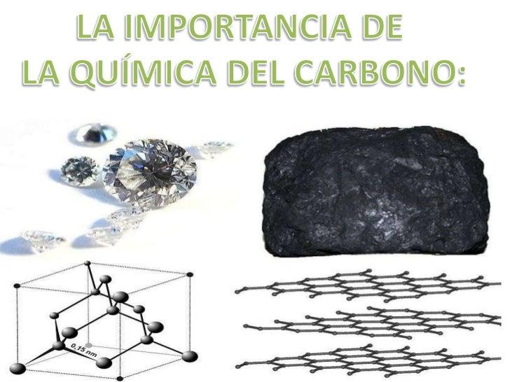 La importancia de la qu mica del carbono for La quimica de la cocina