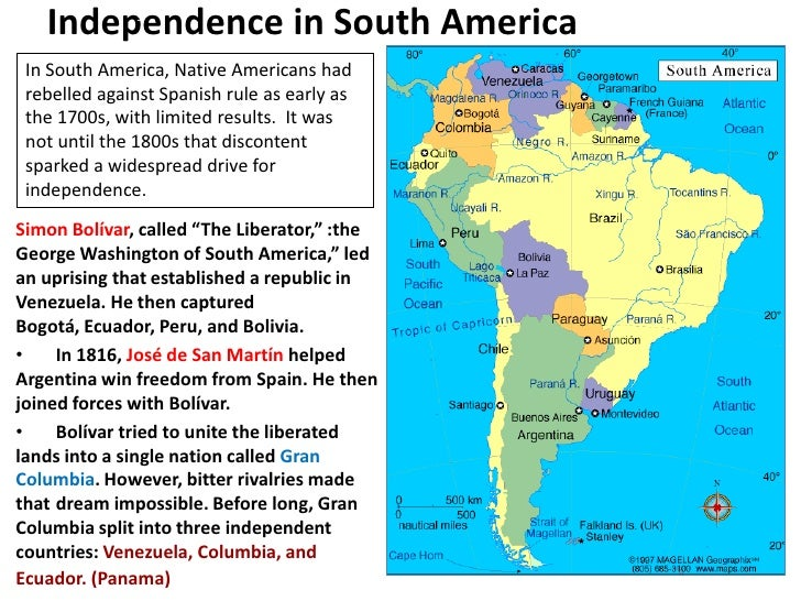 Essays on latin american independence