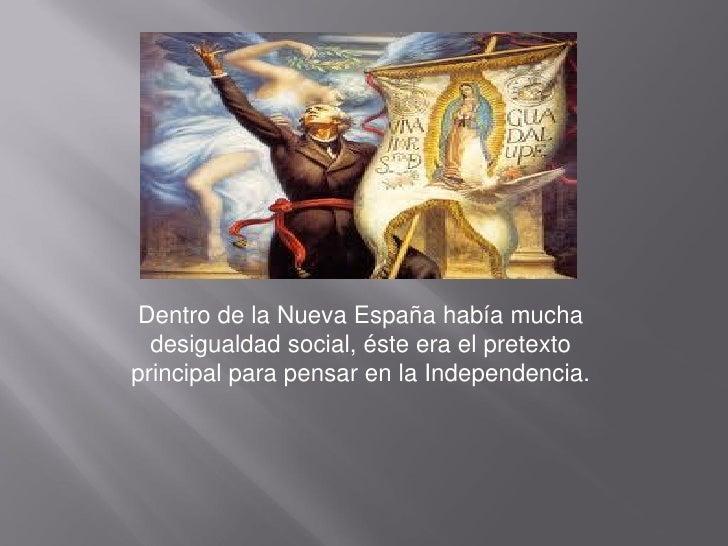 La independencia de mexico Slide 3