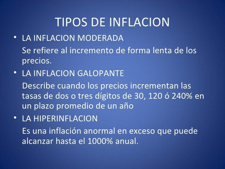 La inflacion y su influencia en la evaluacion for Tipos de viveros pdf