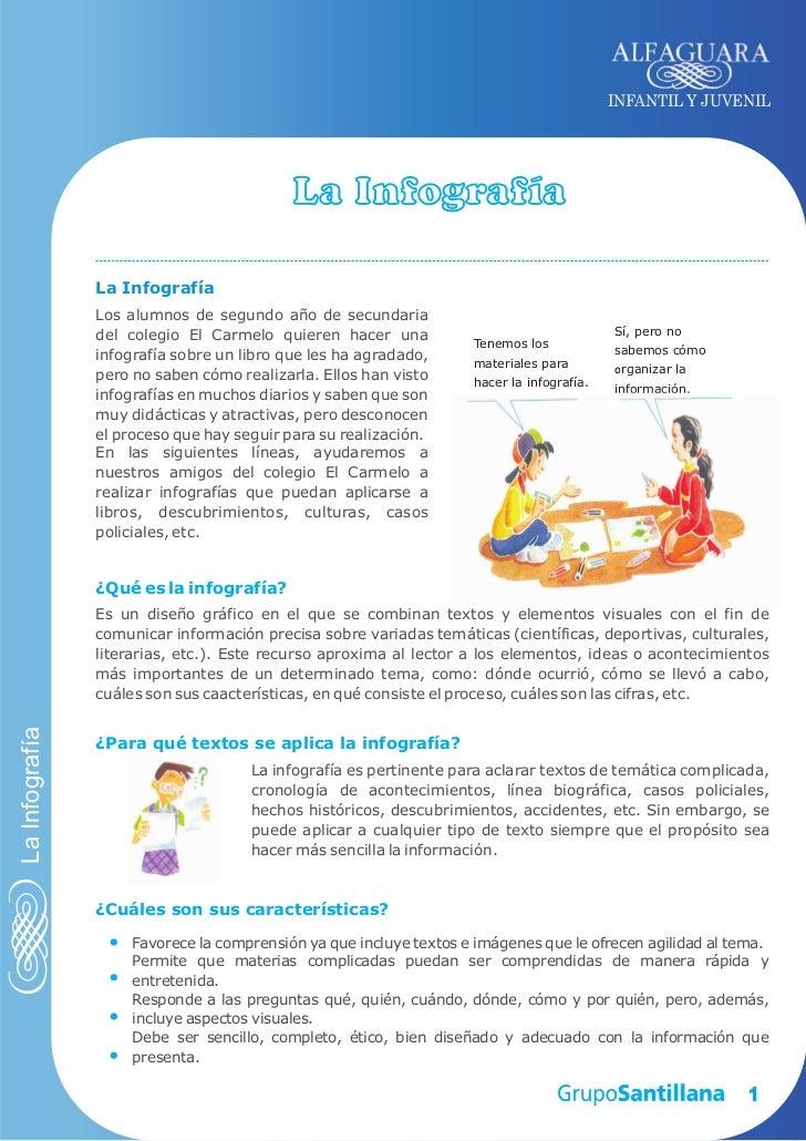 INFANTIL Y JUVENIL                                           La Infografía                La Infografía                Los...