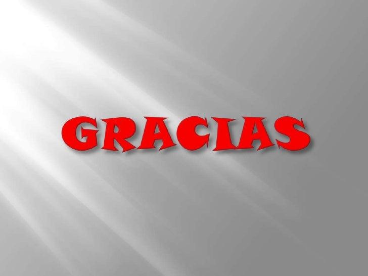GRACIAS<br />