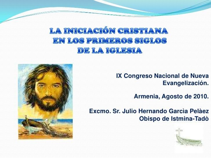 La iniciacion cristiana