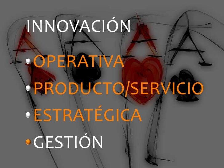 La Innovación Empieza en la Gestión de Personas   octubre 2011 Slide 2