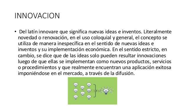 La innovacion en las organizaciones modernas Slide 2