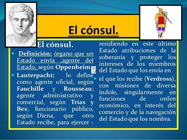 La institucion consular version de 2013 for Que es un consul