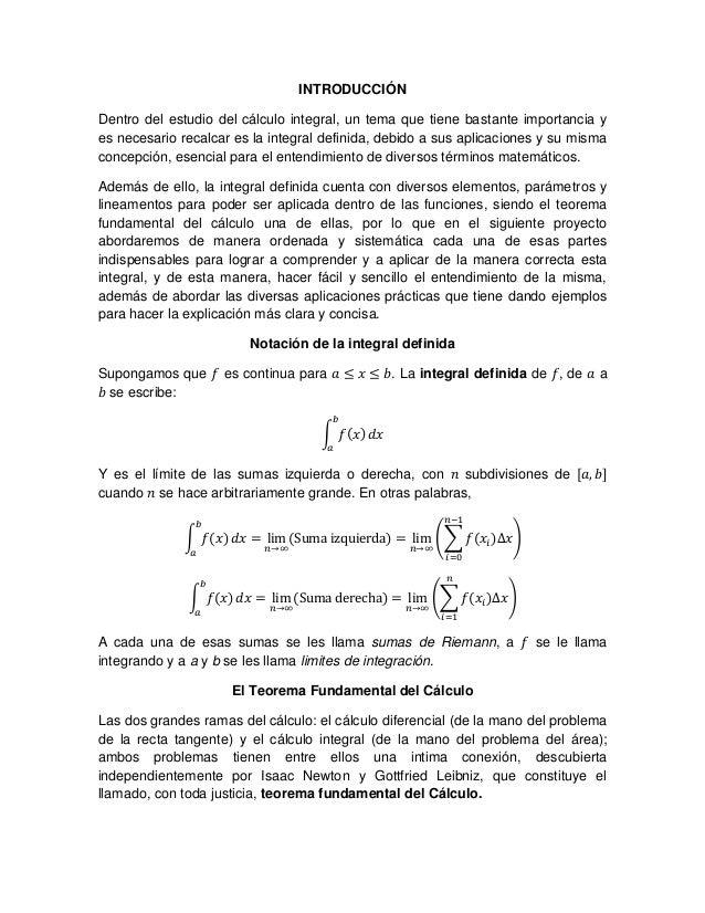 La integral definida Slide 2
