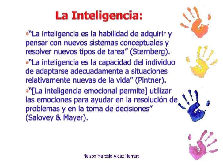 La inteligencia Slide 2