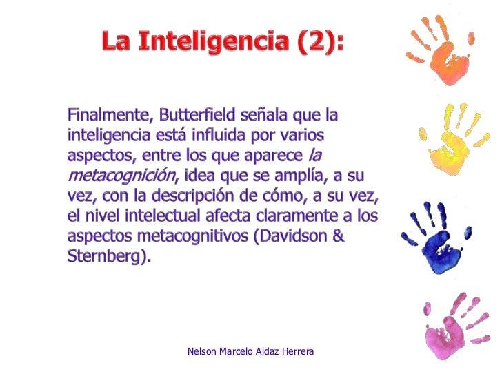 La inteligencia Slide 3