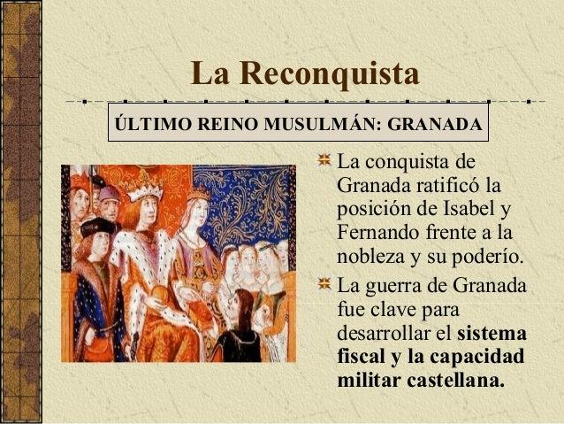 La invasi n musulmana y la reconquista espa a pen nsula - M a interiorismo cb granada ...