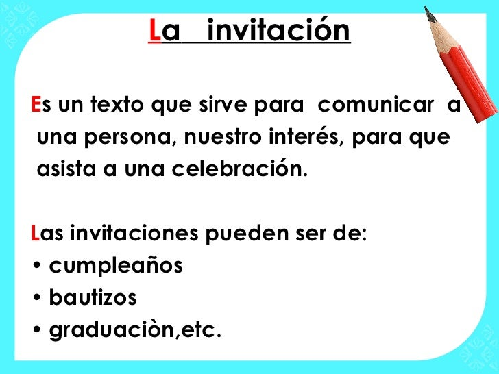 La Invitacion