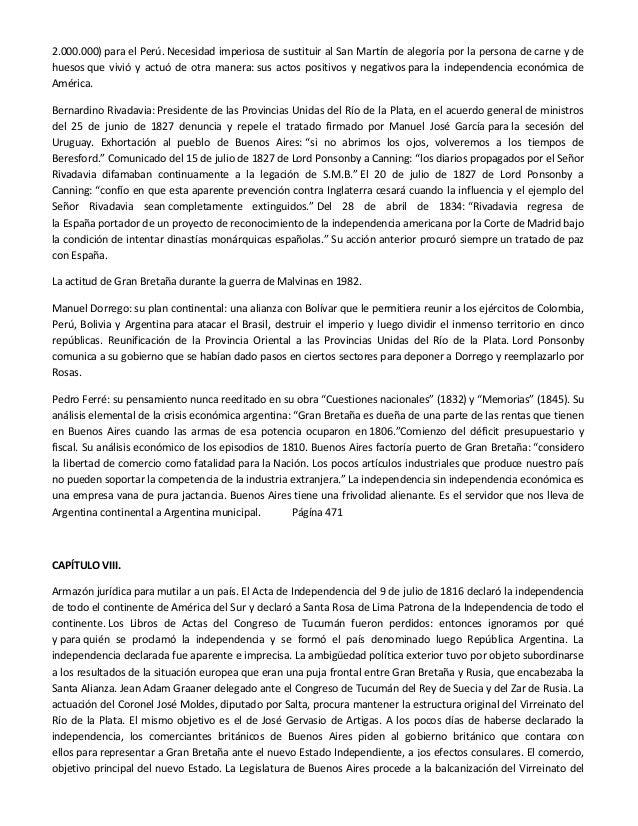 La involución hispanoamericana. de provincias de las españas a territ…