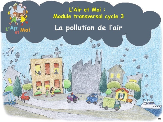 La pollution de l'air L'Air et Moi : Module transversal cycle 3 H1
