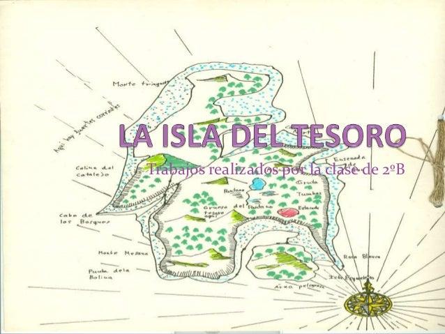 Mapa Isla Del Tesoro.La Isla Del Tesoro